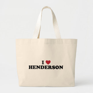 I Love Henderson Nevada Jumbo Tote Bag