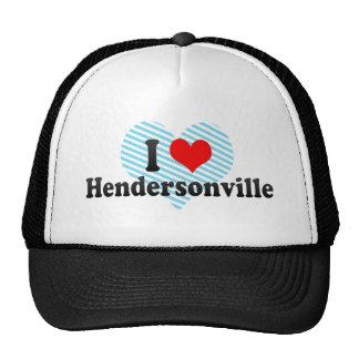 I Love Hendersonville, United States Trucker Hat