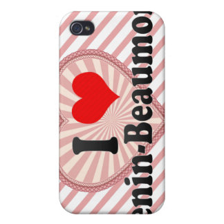 I Love Henin-Beaumont, France iPhone 4 Covers