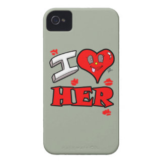 I Love Her iPhone 4 Case