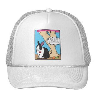 I LOVE HER MESH HATS