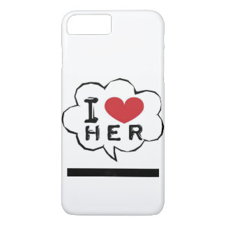 I love Her Phone Case
