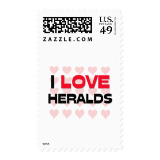 I LOVE HERALDS STAMPS