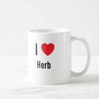 I love Herb Coffee Mug