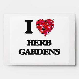 I love Herb Gardens Envelopes