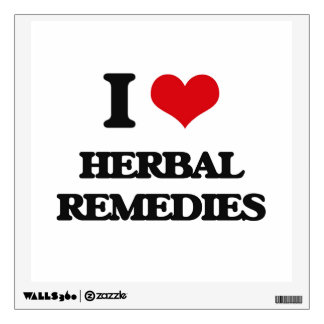 I love Herbal Remedies Wall Graphics