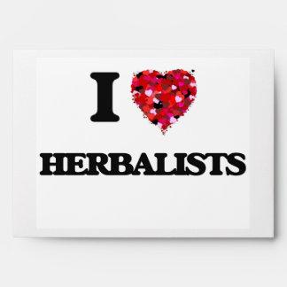 I love Herbalists Envelope