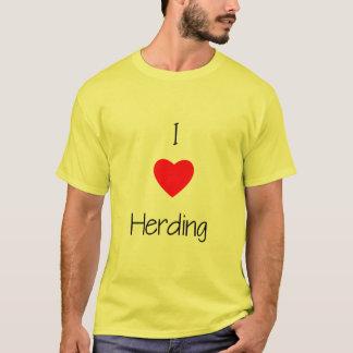 I Love Herding T-Shirt
