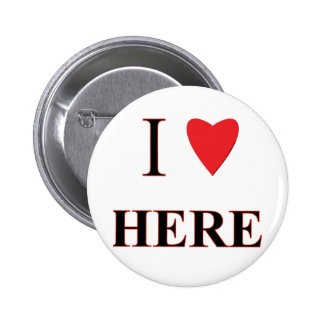 I Love Here Button
