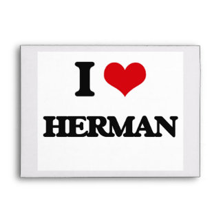 I Love Herman Envelope