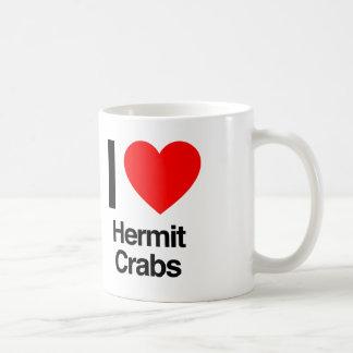 i love hermit crabs coffee mug