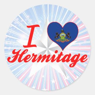 I Love Hermitage, Pennsylvania Sticker