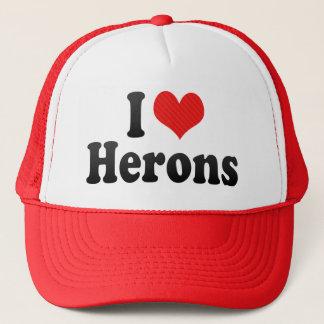 I Love Herons Trucker Hat