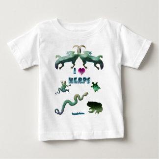 I Love Herps Baby T-Shirt