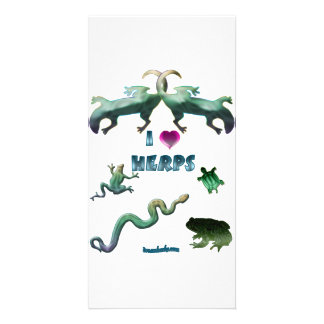 I Love Herps Card