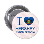 I Love Hershey, PA Buttons