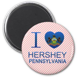 I Love Hershey PA Magnets