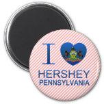I Love Hershey, PA Magnets