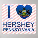 I Love Hershey, PA Posters
