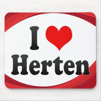 I Love Herten Germany Ich Liebe Herten Germany Mouse Pads
