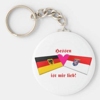 I Love Hessen ist mir lieb Key Chain