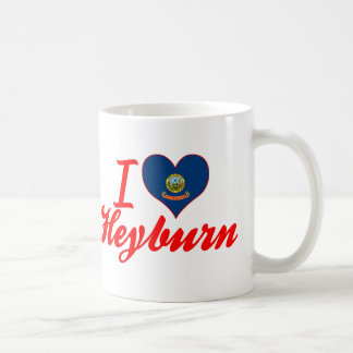 I Love Heyburn, Idaho Mugs