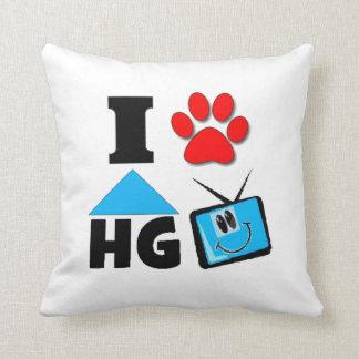 I Love HG TV Throw Pillow