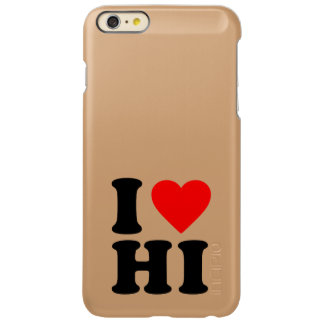 I LOVE HI INCIPIO FEATHER® SHINE iPhone 6 PLUS CASE