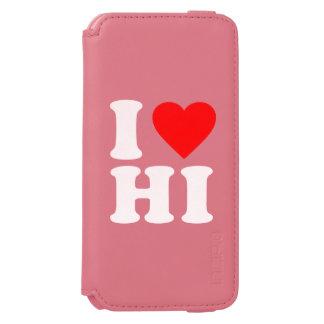 I LOVE HI iPhone 6/6S WALLET CASE