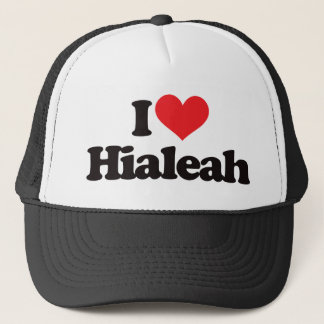 I Love Hialeah Trucker Hat