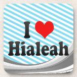 I Love Hialeah, United States Beverage Coaster