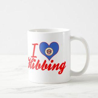 I Love Hibbing, Minnesota Classic White Coffee Mug