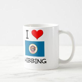 I Love Hibbing Minnesota Classic White Coffee Mug