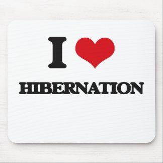 I love Hibernation Mouse Pad