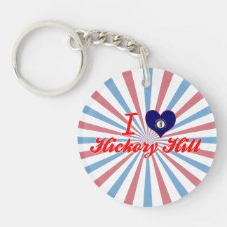I Love Hickory Hill, Kentucky Acrylic Keychains