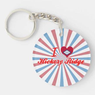 I Love Hickory Ridge, Arkansas Acrylic Keychains