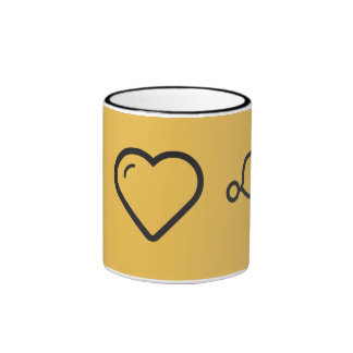 I Love Hierarchical Structure Ringer Coffee Mug