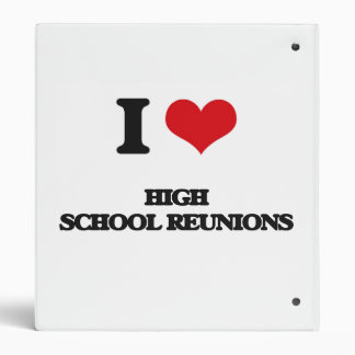 I love High School Reunions Binder