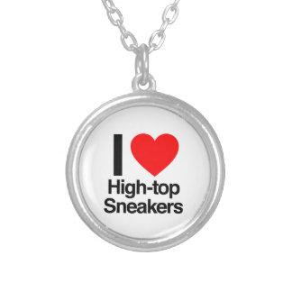 i love high-top sneakers custom jewelry