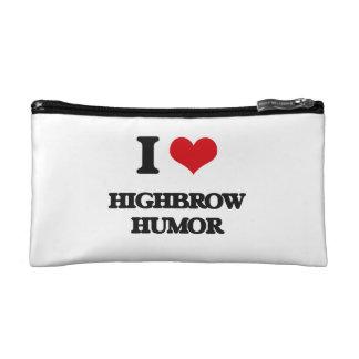 I love Highbrow Humor Makeup Bag