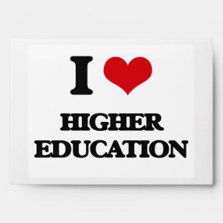 I love Higher Education Envelope