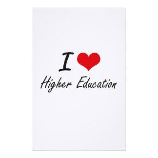 I love Higher Education Stationery