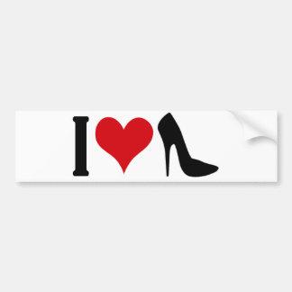 I love highheels bumper sticker