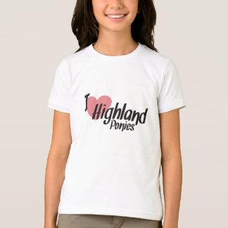 I Love Highland Ponies T-Shirt