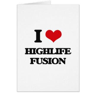I Love HIGHLIFE FUSION Cards