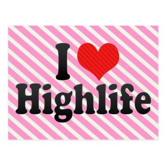 I Love Highlife Postcard