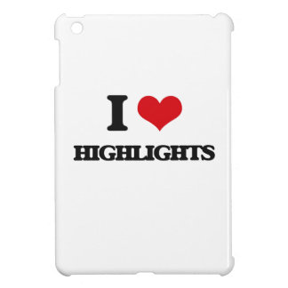I love Highlights iPad Mini Cases