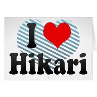 I Love Hikari, Japan Stationery Note Card