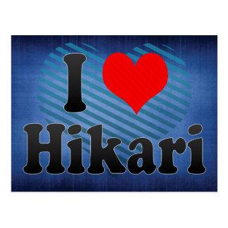 I Love Hikari, Japan Postcard