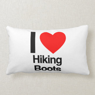 i love hiking boots pillows